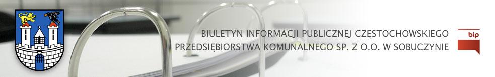 BIP - Częstochowskie Przedsiębiorstwo Komunalne Sp. z o.o.