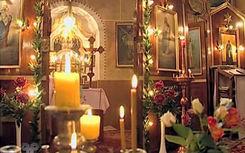 Wnętrze cerkwi prawosławnej