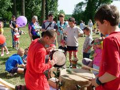 Dzieci poznają tradycje średniowiecza
