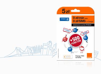 Orange/PAYBACK prepaid starter