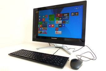 Test komputera Lenovo C470 All in One z sieci T-Mobile