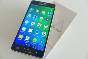 Test Samsung Galaxy Alpha