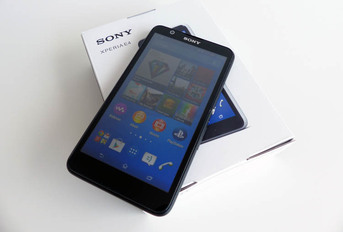 Test Sony Xperia E4