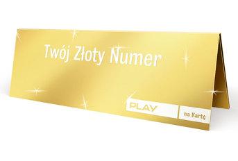 Złoty numer w Play za 25 zł