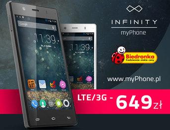 myPhone Infinity w Biedronce