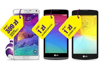 Galaxy Note 4 taniej w Play