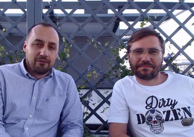 Tomasz Pogoda i Marcin Gruszka