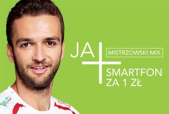 Polscy siatkarze promują ofertę Mix w Plusie