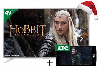 Telewizory LG w świątecznej ofercie Plusa
