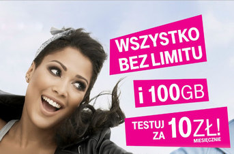 T-Mobile dla przenoszących numer: no limit i 100 GB za 10 zł