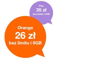 www.wybierzorange.pl - Orange porównuje się z prepaidową konkurencją