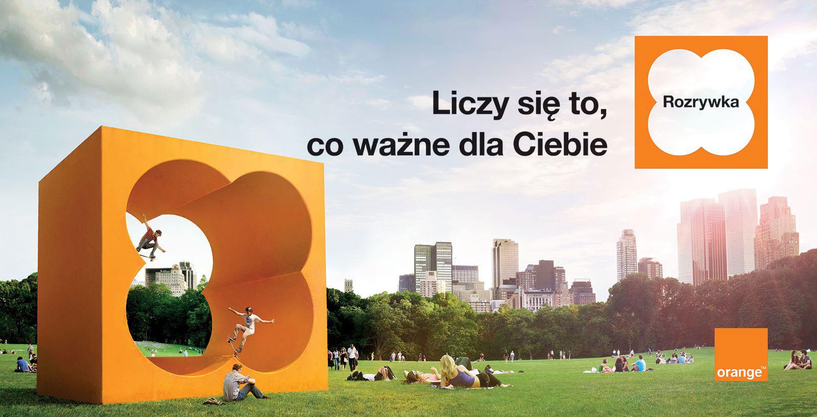 Orange - start nowej kampanii reklamowej