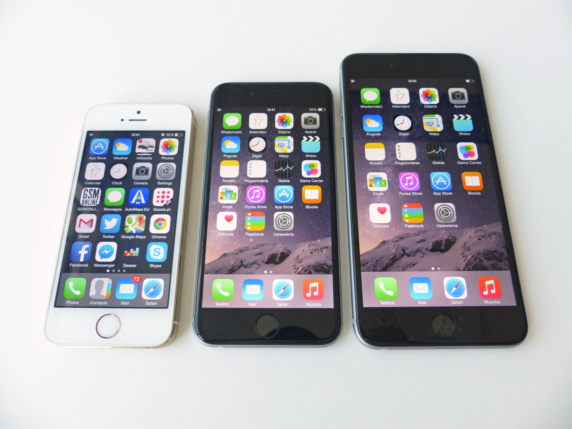 galeria zdj smartfon w iphone 6 i iphone 6 plus. Black Bedroom Furniture Sets. Home Design Ideas
