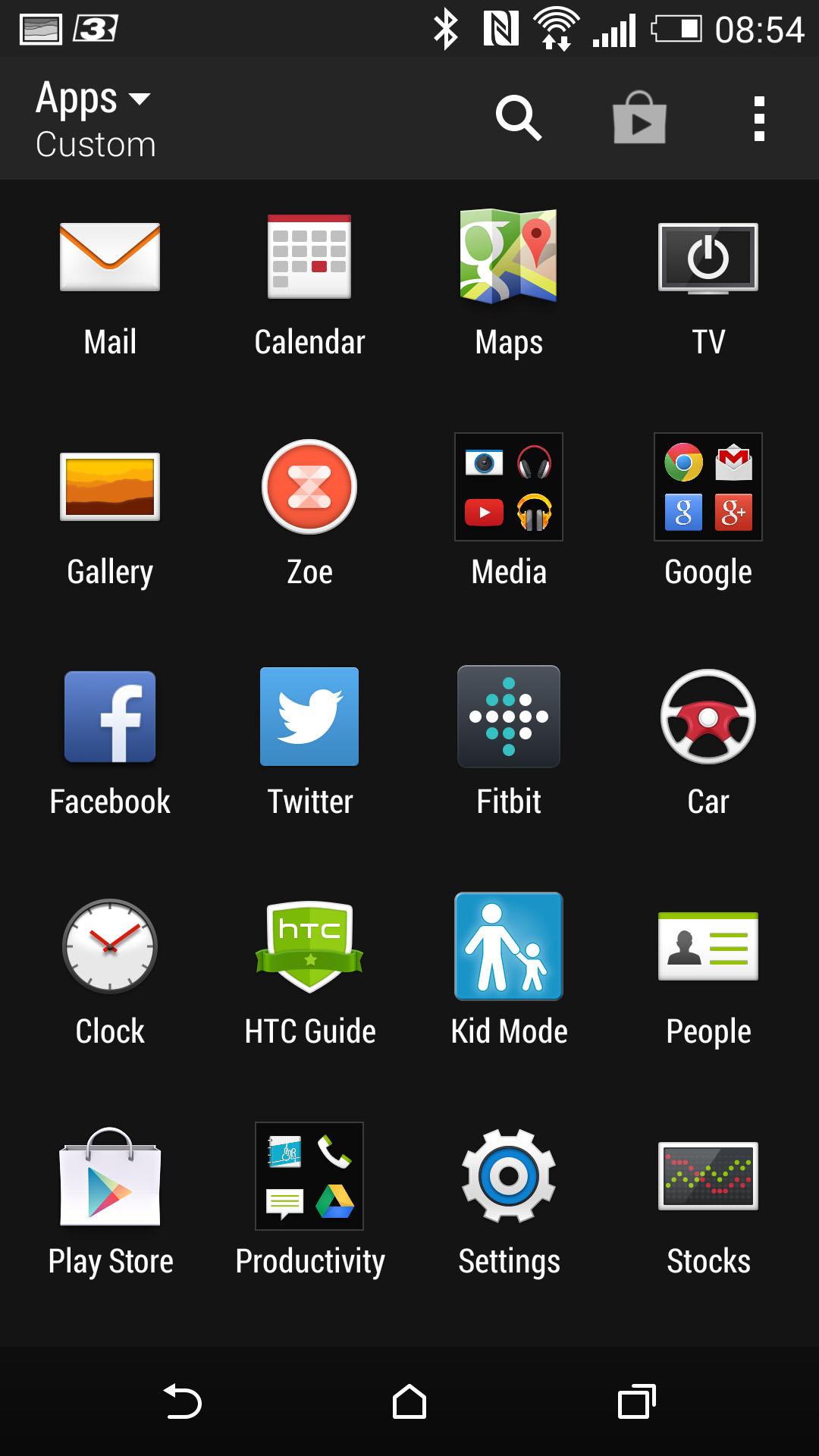Test HTC ONE M8