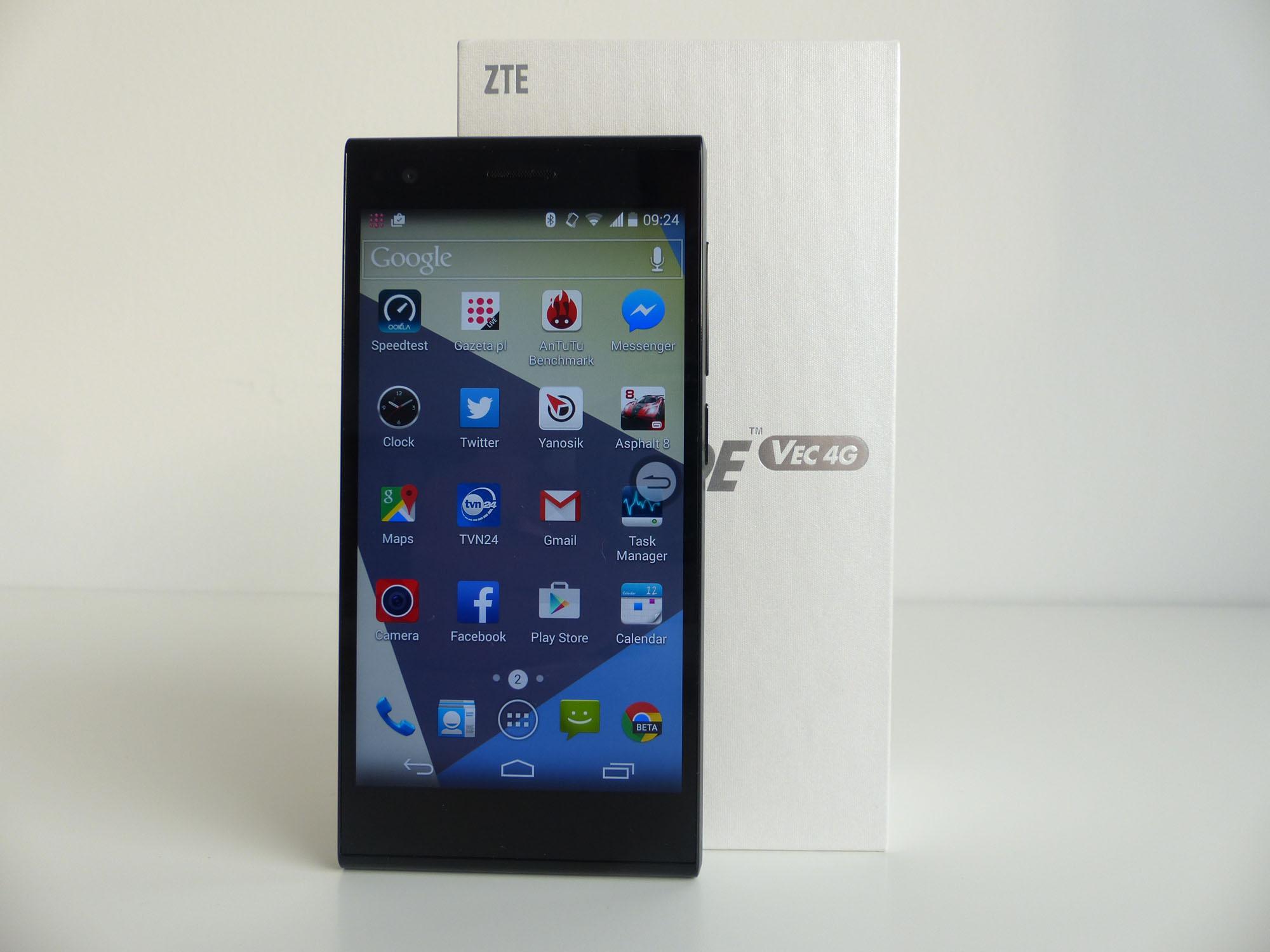 Test ZTE Blade VEC 4G