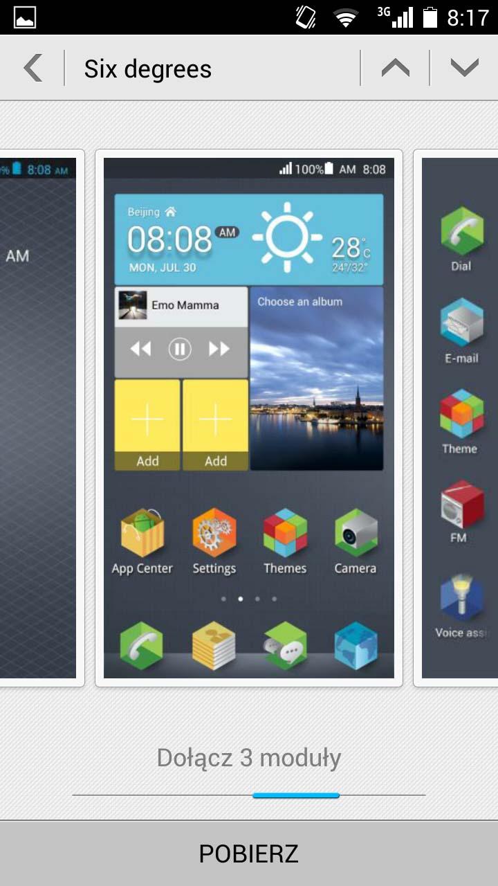 Test Huawei Honor 3C