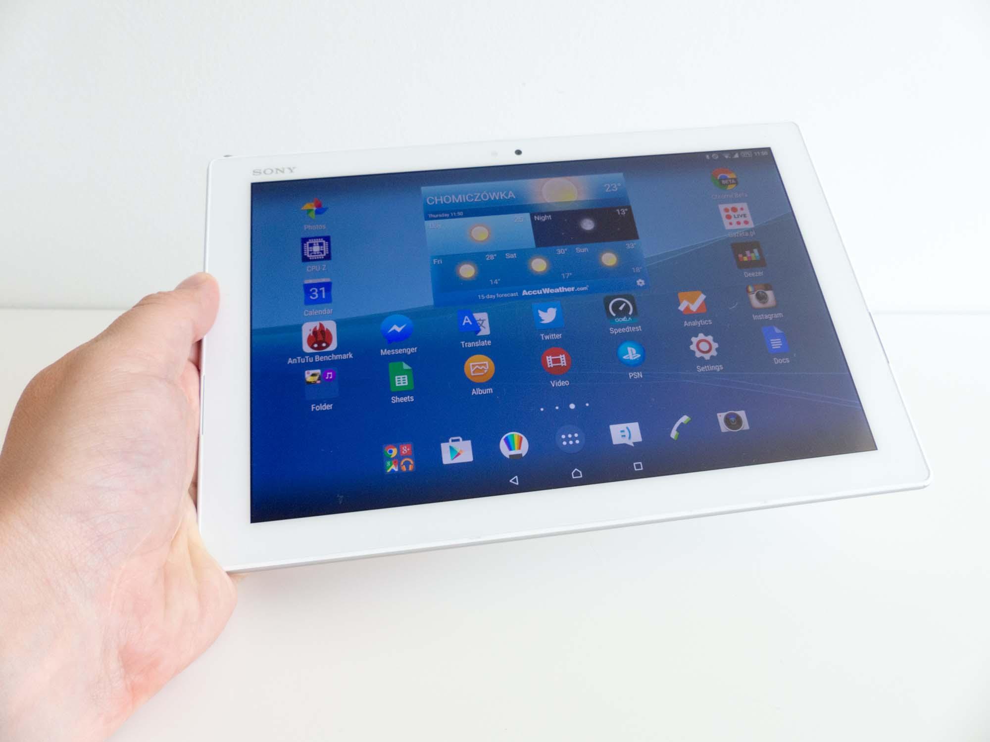 Test Sony Xperia Z4 Tablet