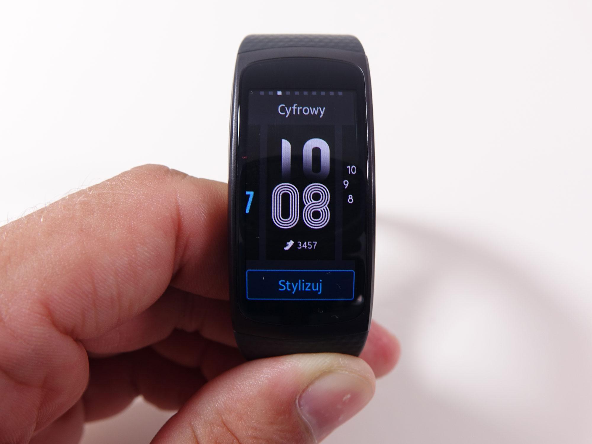 Test opaski Samsung Gear Fit 2