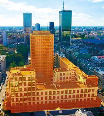 Orange sprzedaje kompleks budynków w centrum Warszawy