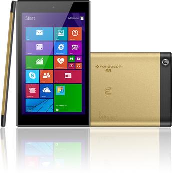 Ferguson S8 - tablet z systemem Windows 8.1 i klawiaturą