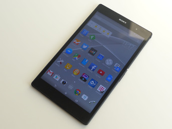 Test Sony Xperia Z3 Tablet Compact