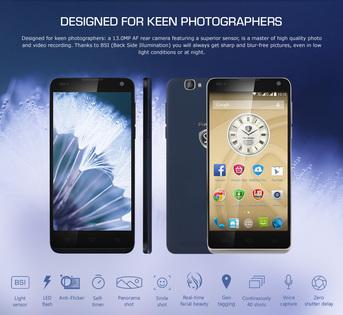 Prestigio Grace X7 – nowy smartfon już niebawem w Polsce