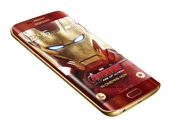 Samsung Galaxy S6 edge Iron Man Limited Edition (wideo)
