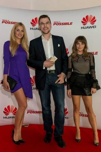 Huawei P8 na pokazie Paprocki&Brzozowski