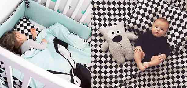 Akcesoria pościelowe - rożek niemowlęcy, sleeping bag, pościel z wypełnieniem, ochraniacz na szczebelki, prześcieradło z gumką