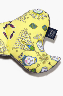 ANGEL'S WINGS - BY ANNA MUCHA SKULLS YELLOW | GREY