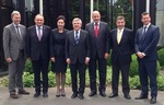 The Polish delegation in Lausanne in a meeting with the President of the International Olympic Committee