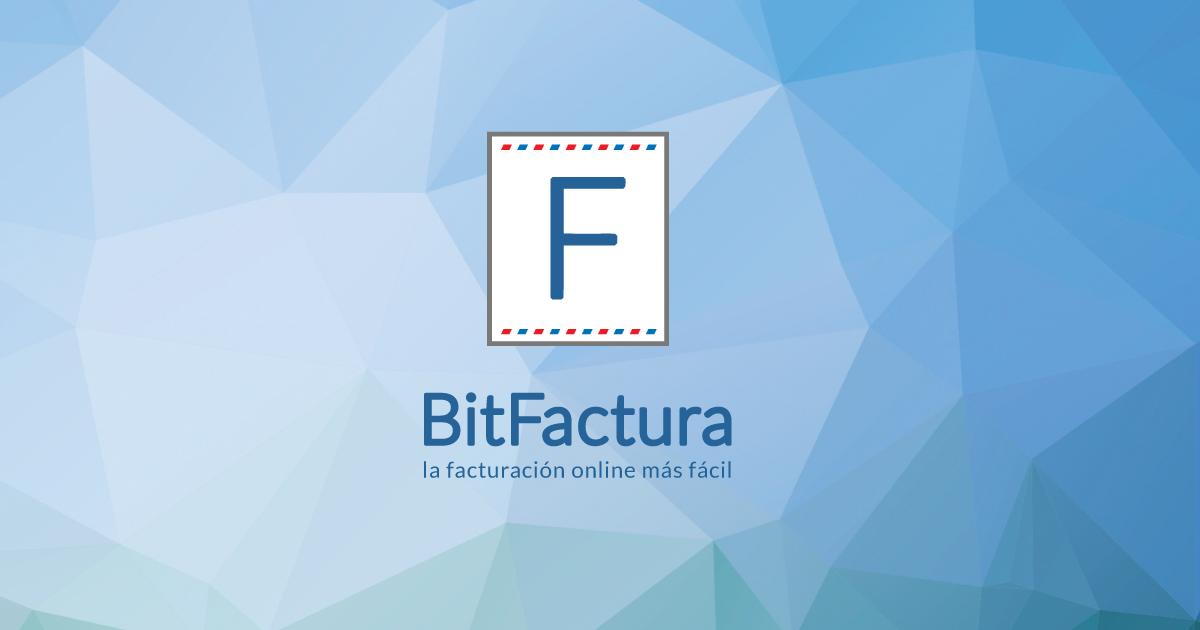 bitfactura la manera más facil de facturación por internet