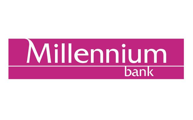 bank millenium logo