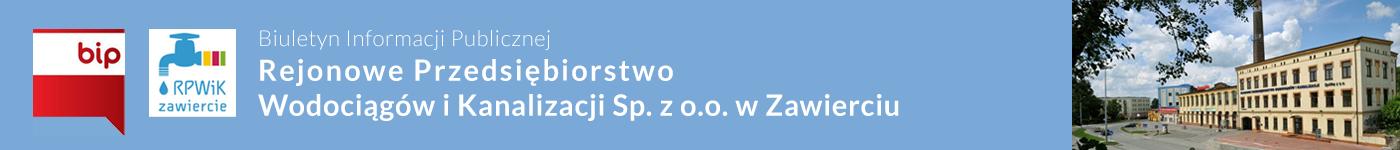 BIP RPWiK Sp. z o.o. Zawiercie