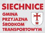"""""""Siechnice – Gmina przyjazna środkom  transportowym""""."""
