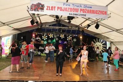 W Sobotę i niedzielę wystąpiłla  Bernadeta Kowalska.