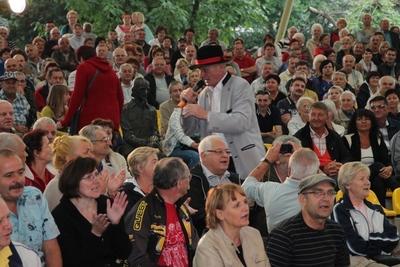 Podczas Śląskiej Soboty nie zabrakło śpiewania piosenek zespołu B.A.R wraz z publicznością.