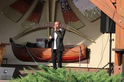 Przez dwa dni publikę bawił m.i.n znany śląski wokalista Leszek Filec.