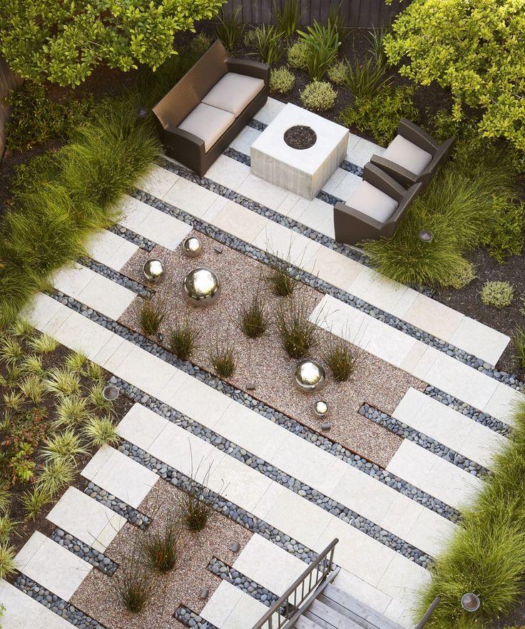 Vertit Studio nowoczesny ogród minimalistyczny