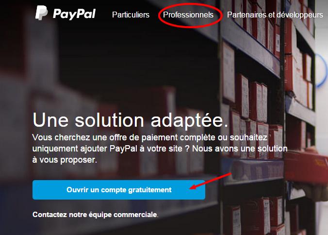 Faites-vous payer en ligne