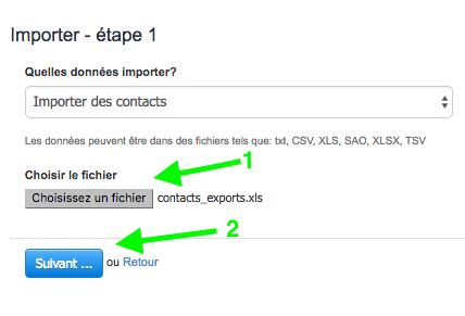 Importer Importationl Données Facture Fichiers Facturation