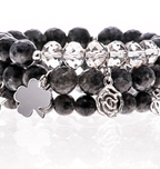 Dark Stone Bracelets| Wendy Simply You