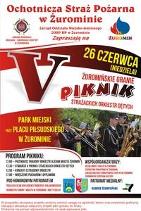 """Żuromińskie Granie"" - V piknik strażackich orkiestr dętych"