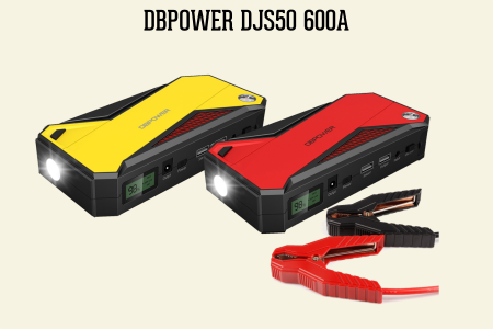 dbpower portable jump starter