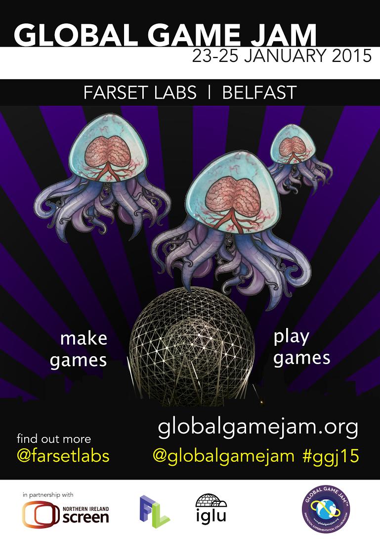 GlobalGameJam_belfast_poster