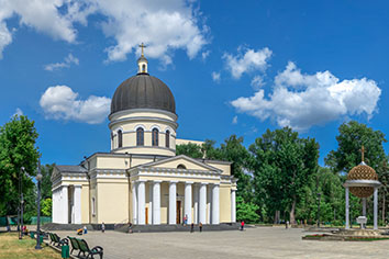 Cathedral of the nativity in chisinau, moldova