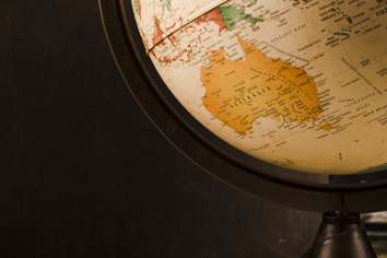 A globe symbolizing the places you can go with visa help