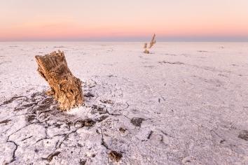 Salinas grandes in cordoba, argentina. old salt production