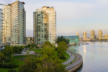 Waterfront living in vancouver bc