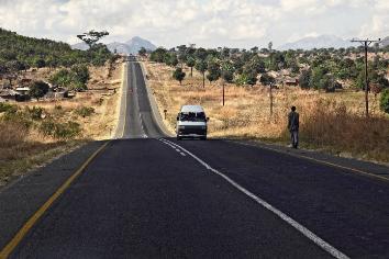 Malawi road
